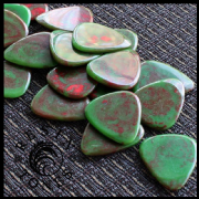 Resin Tones - Life on Mars - 4 Guitar Picks | Timber Tones